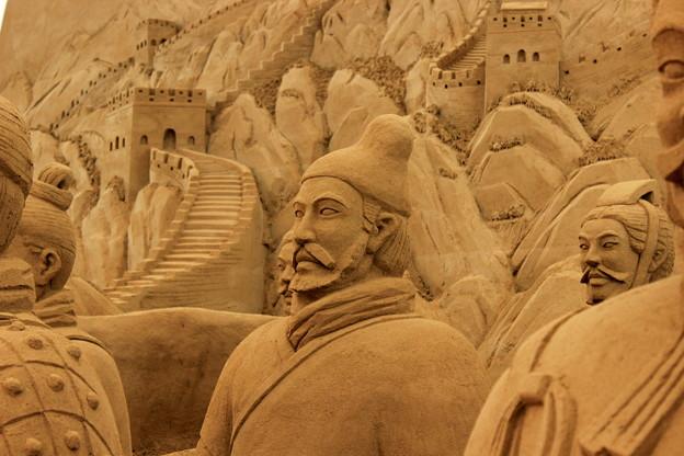 ヨコハマ・砂の彫刻展