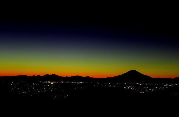 円海山~富士山