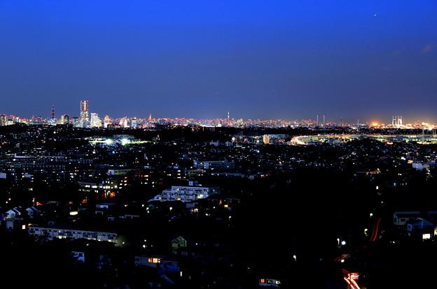 円海山~横浜夜景