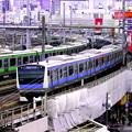 Photos: 京浜東北線 VS アメヤ横丁