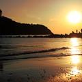 江ノ島の夕照