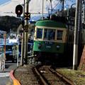 Photos: 富士山電車(江ノ電バージョン)