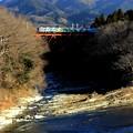 Photos: 鉄橋を渡る電車