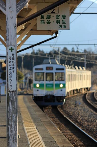 Photos: 電車が来ます