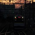 富士山電車(鶴見線バージョン)