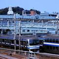 横須賀線VS大船観音