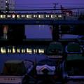 運河を渡る鶴見線