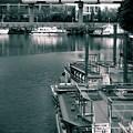 運河のある街