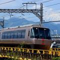 Photos: 富士山電車(小田急ロマンスカーバージョン)