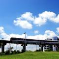 Photos: 青空電車(東京モノレールバージョン)