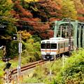 Photos: 鉄橋電車