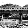 JR内房線 VS 漁船