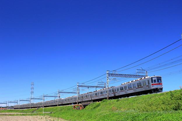 写真: 青空電車~東武バージョン~