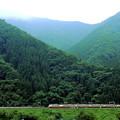 写真: 山中電車