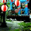 お祭り江ノ電