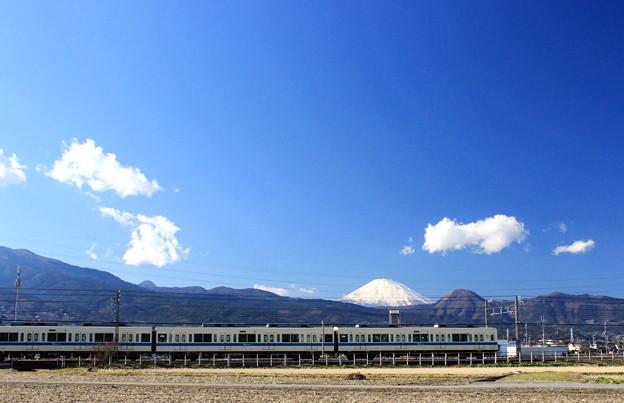 写真: 富士山電車~小田急バージョン~