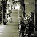 自転車・・・
