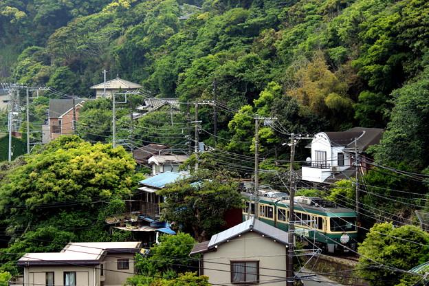 写真: ちょこっと江ノ電