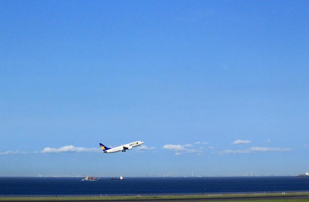 Photos: 羽田ブルー~Take Off~
