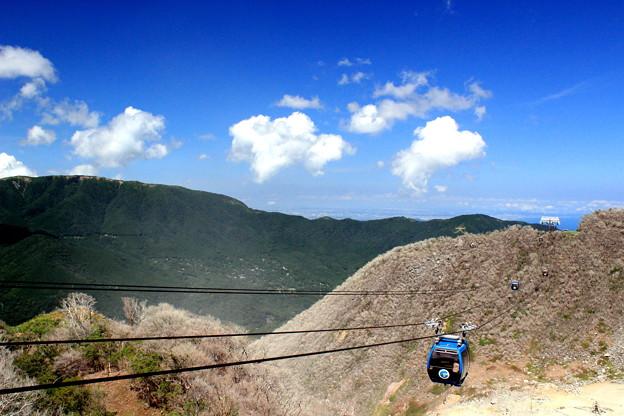 写真: Fly On A Volcano !