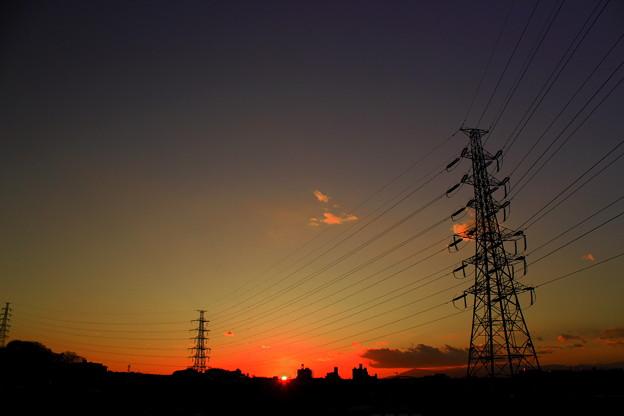 Photos: High Voltage Sunset