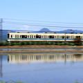 写真: Running 小田急水鏡