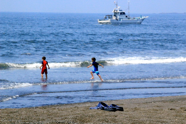 海辺のサンダル