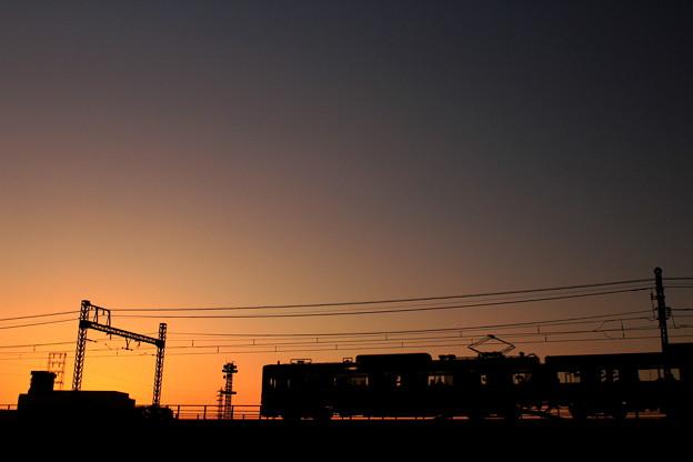 写真: Into The Sunset