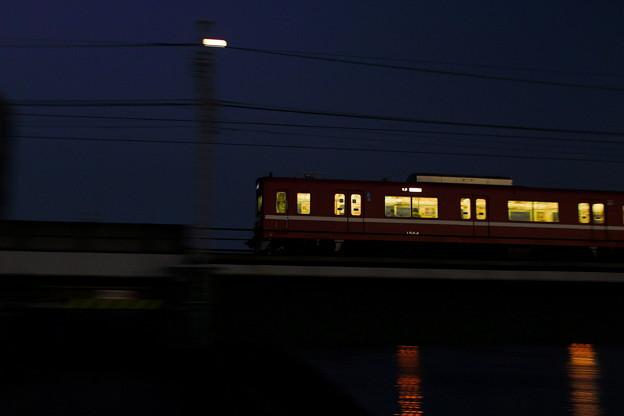 Photos: 宵のビュン!