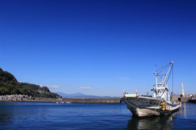 漁船のある風景