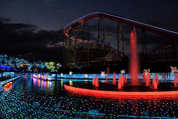 夕刻遊園地