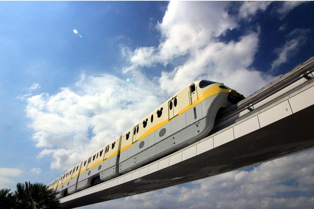 夢の国の電車