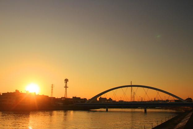 My Hometown Sunset
