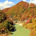 秋深まる温泉郷