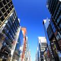 Photos: 縦長の街