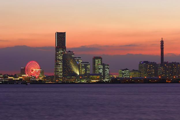 Yokohama Sunset