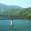 深緑の鉄橋