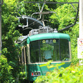 真夏の江ノ電