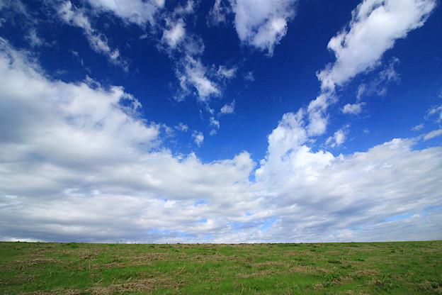 Photos: 空と大地