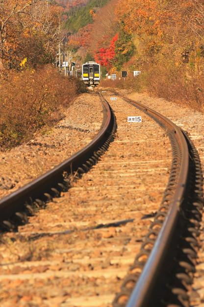 秋の終着駅