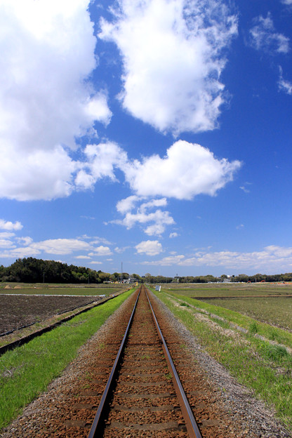 初夏への鉄路