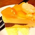 写真: 杏子のムースケーキ試食♪