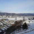 夕日をうける八ヶ岳と諏訪湖5