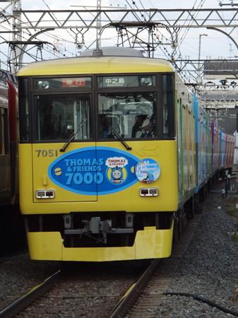 京阪7000系副標付