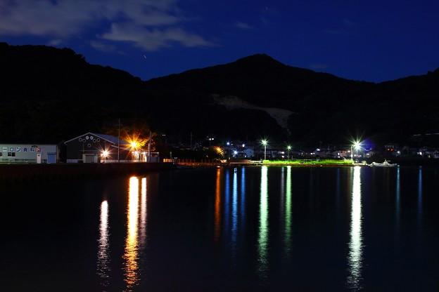 多良見町船津地区の夜景