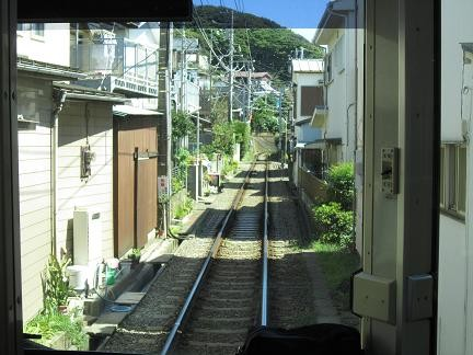 江ノ電の線路