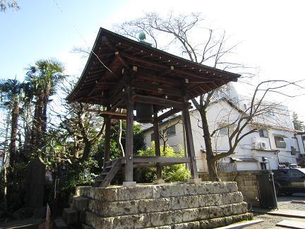 安養寺の梵鐘