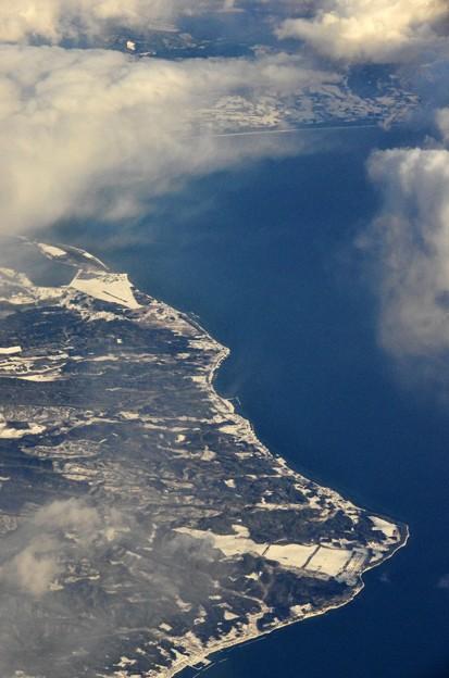 Photos: 写真00173 陸奥湾と海上自衛隊大湊基地