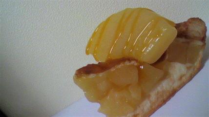 真ん中にドでかいリンゴがの...