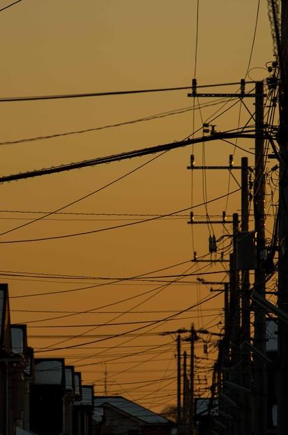 空には電線ばっかり